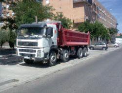 Aparcamiento específico para camiones y autobuses