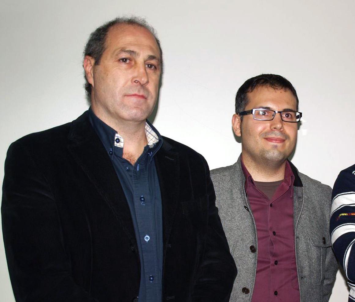 Alfonso Redondo y Carlos Delgado. Foto: Garya