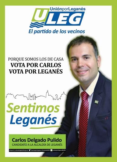 Cartel electoral Carlos RRSS