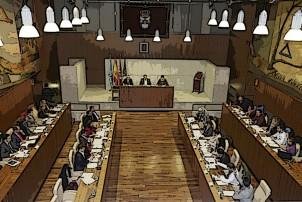 Pleno de marzo: orden del día e iniciativas de ULEG
