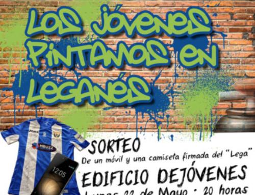 """ULEG quiere que los jóvenes de Leganés """"pinten en la ciudad"""": tener voz, decisión y espacio propio en la actividad municipal"""