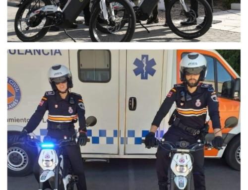 """Policía Local de Leganés prescinde de las """"motos"""" eléctricas que adquirió hace un año"""