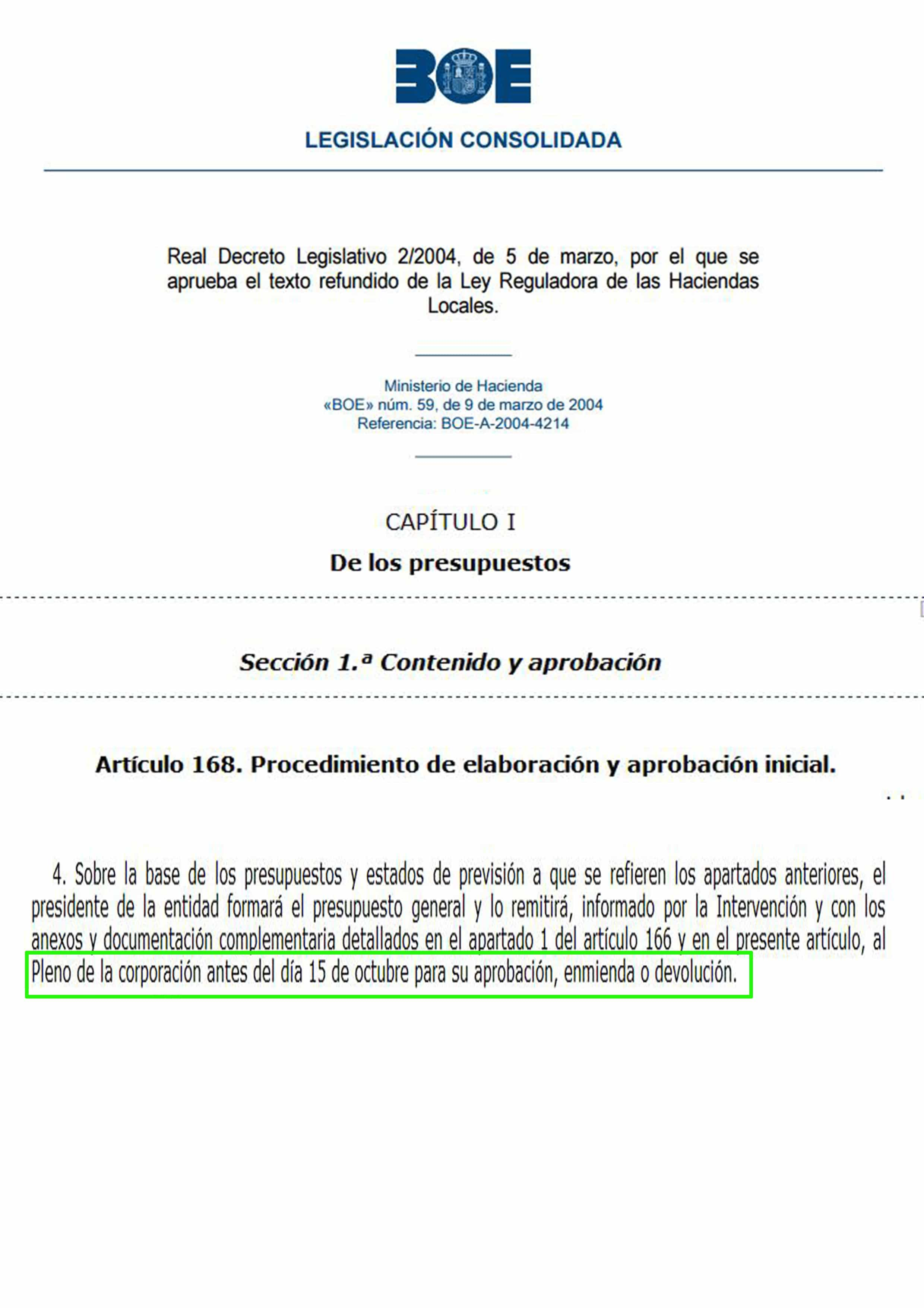 Alcalde de Leganés vulnera la Ley de Haciendas Locales y no envía los presupuestos al Pleno