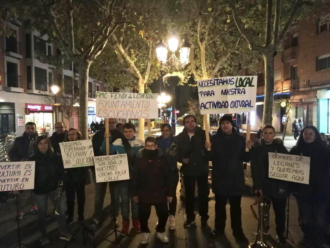 """Unión por Leganés-ULEG denuncia la falta de apoyo por parte del gobierno de Leganés a la Asociación Músico Cultural """"El Fénix de la Esperanza"""""""
