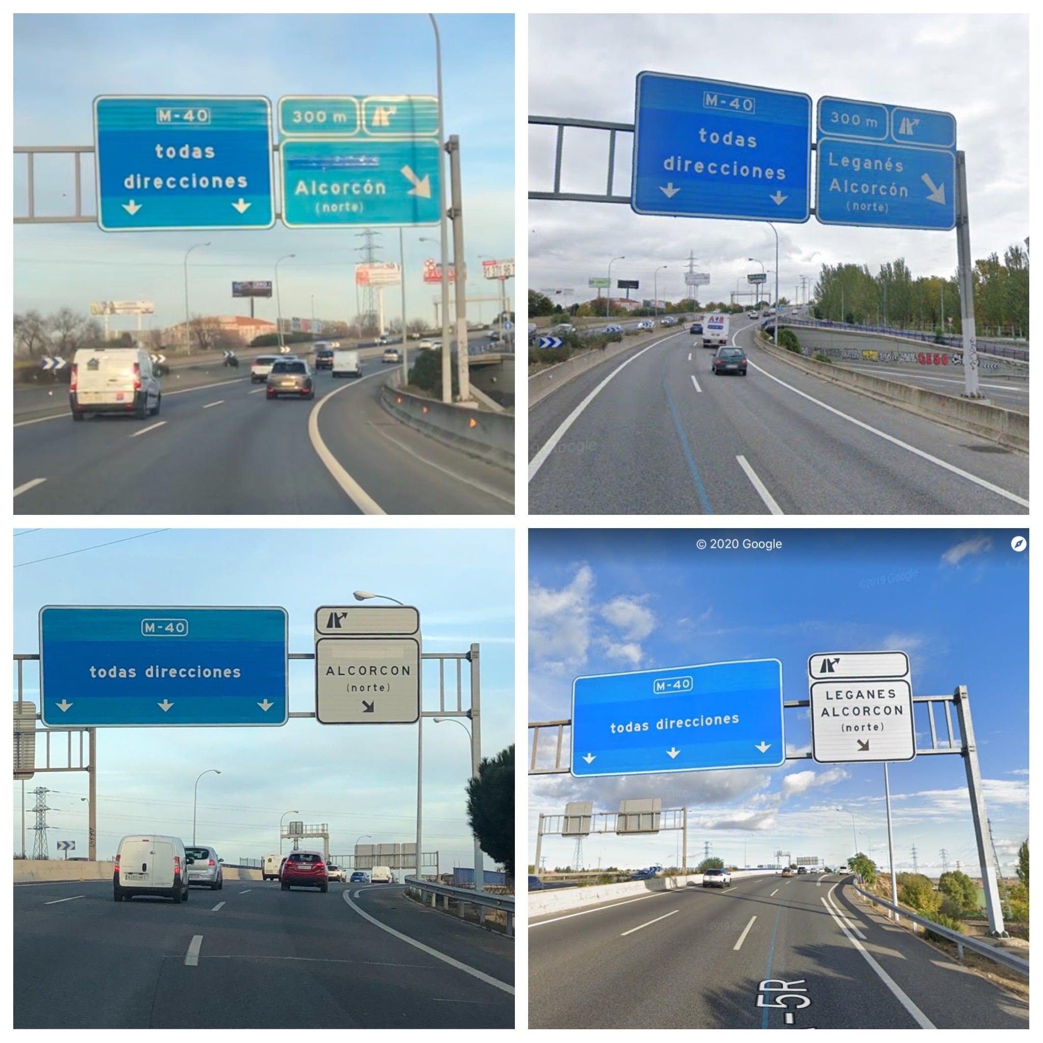 """FOTODENUNCIA: Leganés """"desaparece"""" de la carretera"""