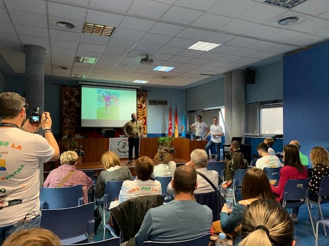 ULEG impulsa un acto en Leganés para visibilizar y solidarizarse con la enfermedad de la fibrosis quística