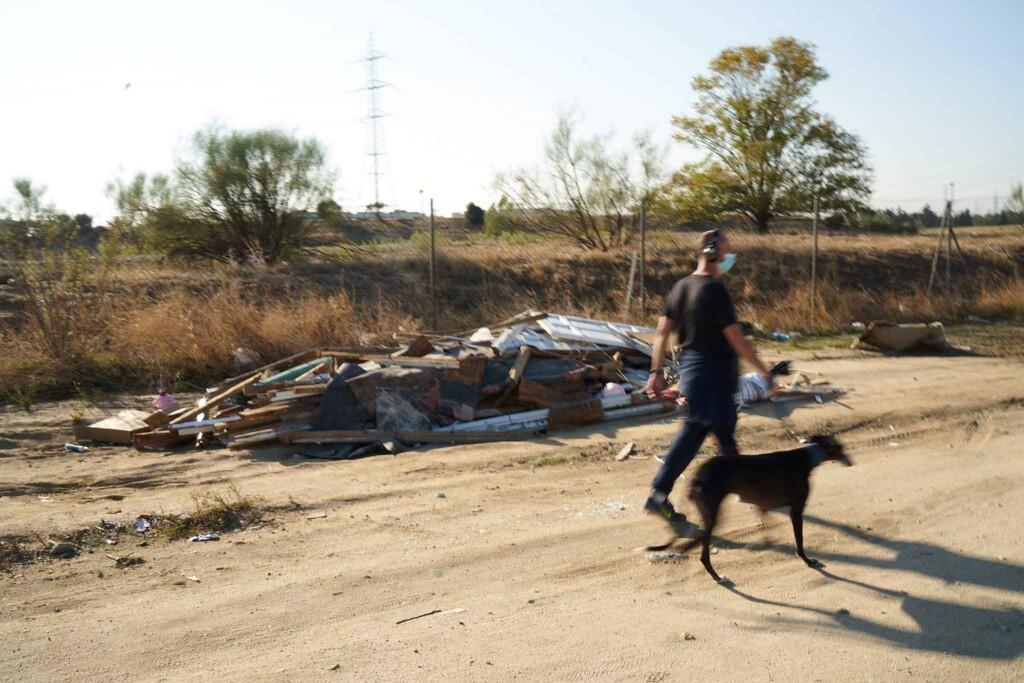 FOTODENUNCIA: Las escombreras y vertidos siguen sin control en los caminos de Leganés