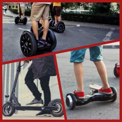 ULEG pide una regulación para los Vehículos de Movilidad Personal – VMP en Leganés (patinetes eléctricos)